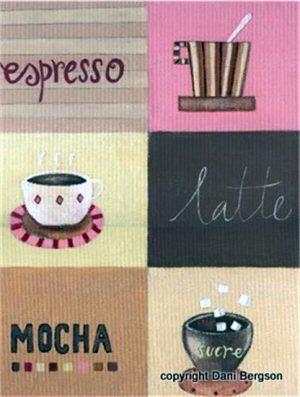 Espresso Latte Mocha