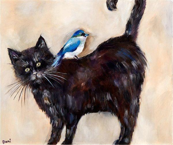Cat Birdie