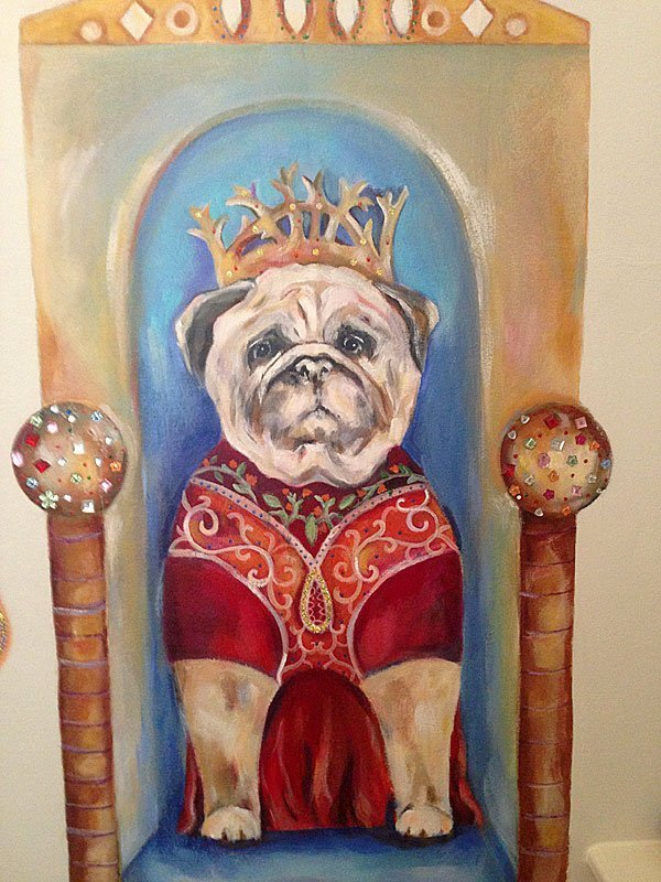 Cat Amp Dog Art Mural