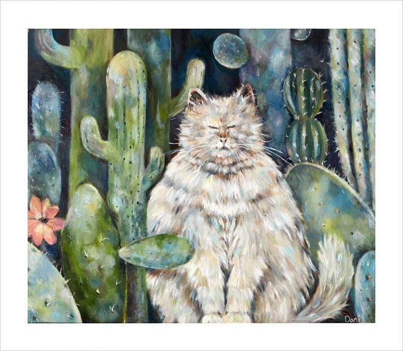 Catcus 'Limited Edition Print'