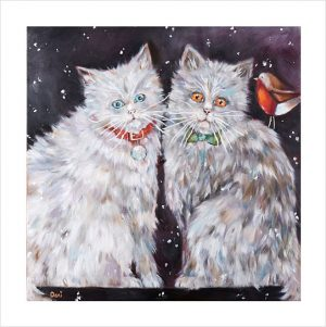 Christmas Kitties 'Limited Edition Print'