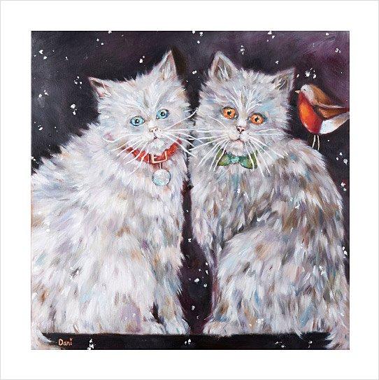 Christmas Kitties 'Limited Edition Print'