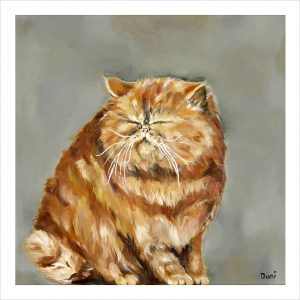 Fat Cat 'Limited Edition Print'