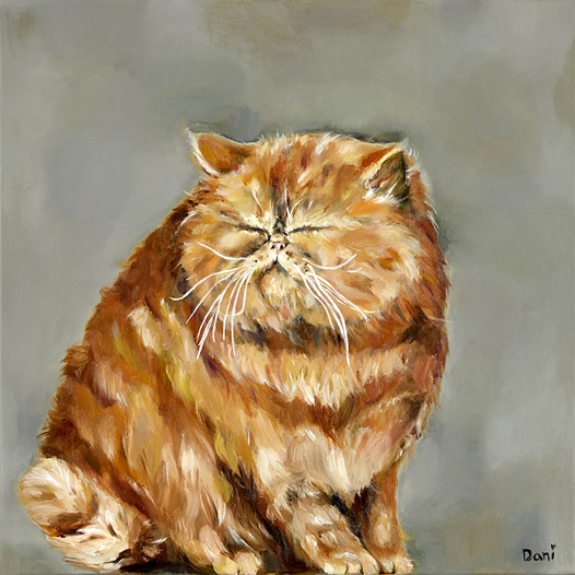 Ginger Fat Cat