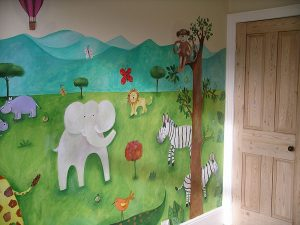 Jungle Art Wall Mural