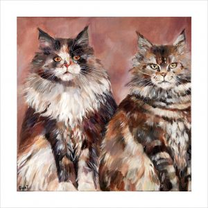 Maine Coons 'Limited Edition Print'