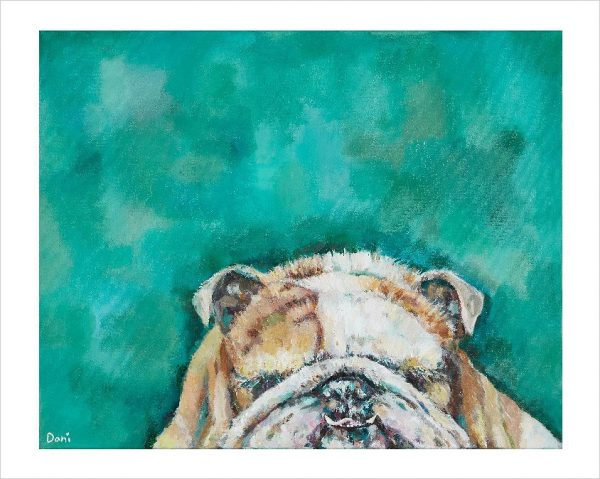 Mr Bulldog 'Limited Edition Print'