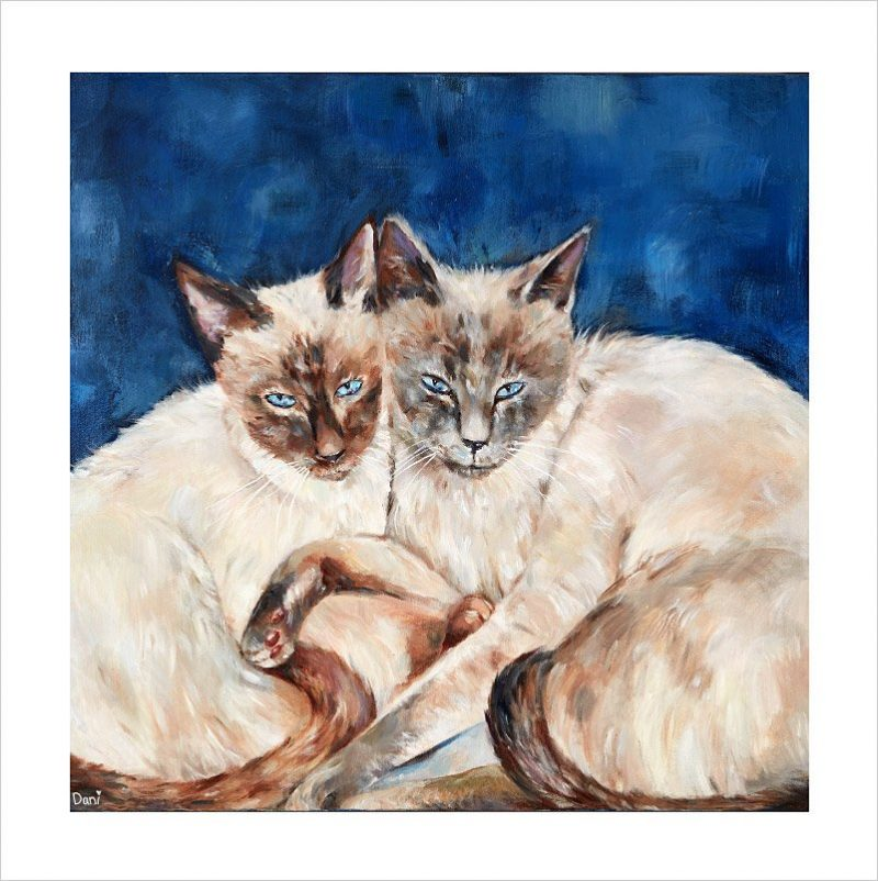 Siamese Twins 'Limited Edition Print'