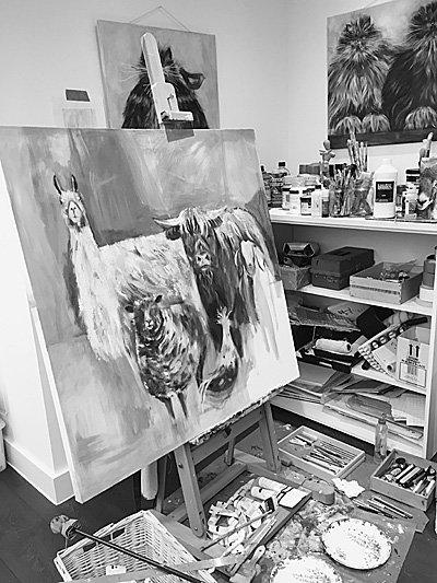 Dani Bergson's Studio