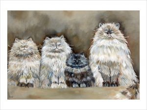 The Four Amigos 'Limited Edition Print'