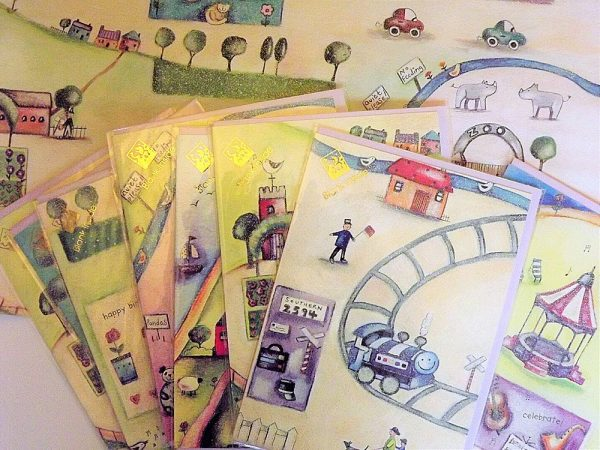 The Village Wrapping Paper and Greeting Cards