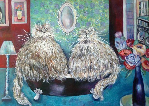 Cats le Bain